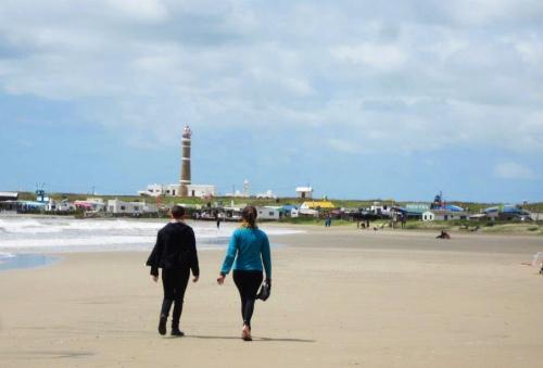 Rolê pela Playa Norte no dia 2