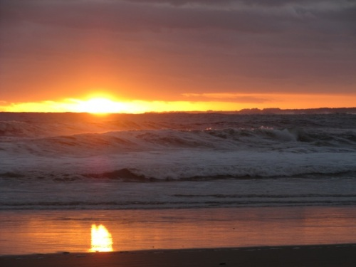 Pôr do Sol Cabo Polônio